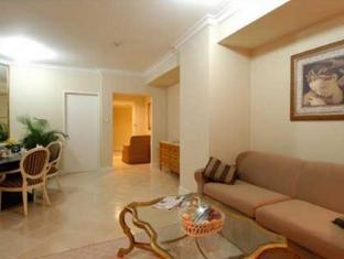 Batavia Apartments Jakarta - Living room of 2 & 3 bedroom apartments