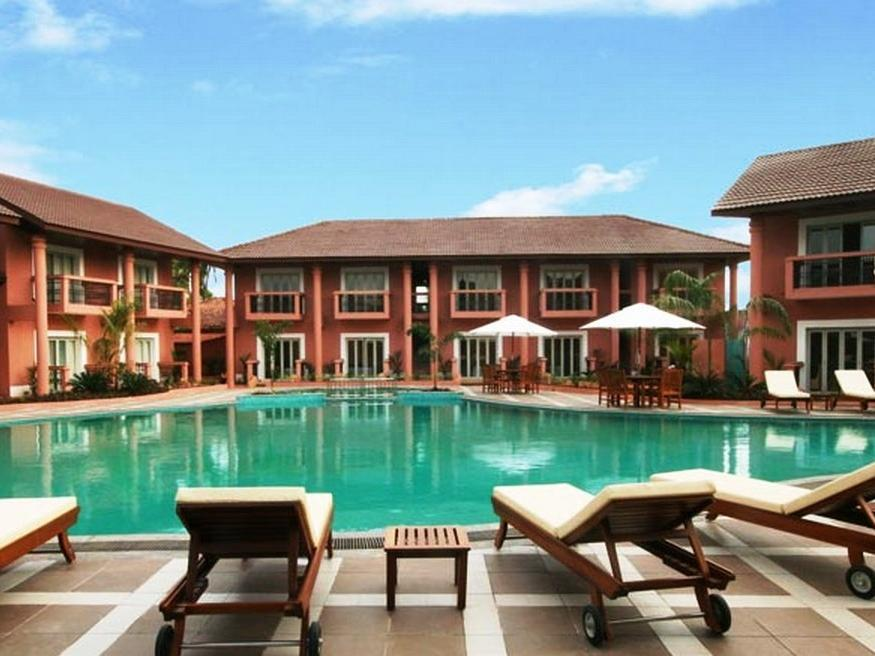 The Golden Palms Hotel and Spa Syd Goa
