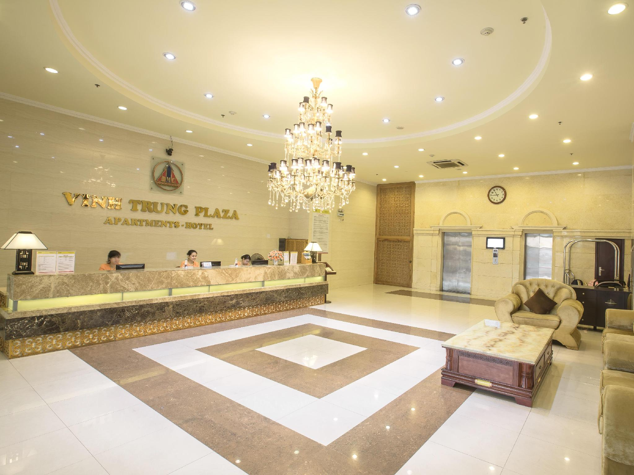 Hotell Vinh Trung Plaza Apartments and Hotel