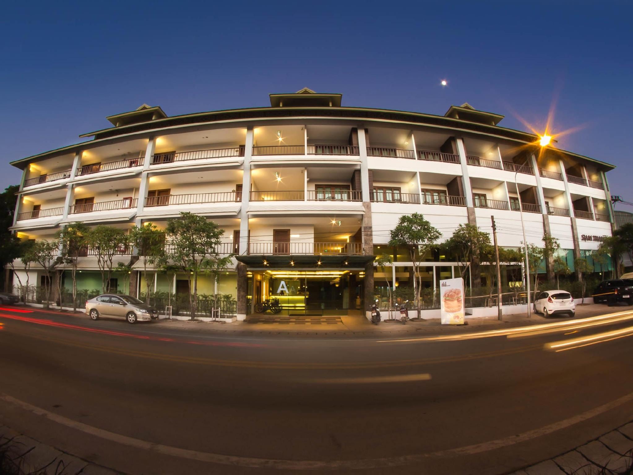 Siam Triangle Hotel - Hotell och Boende i Thailand i Asien