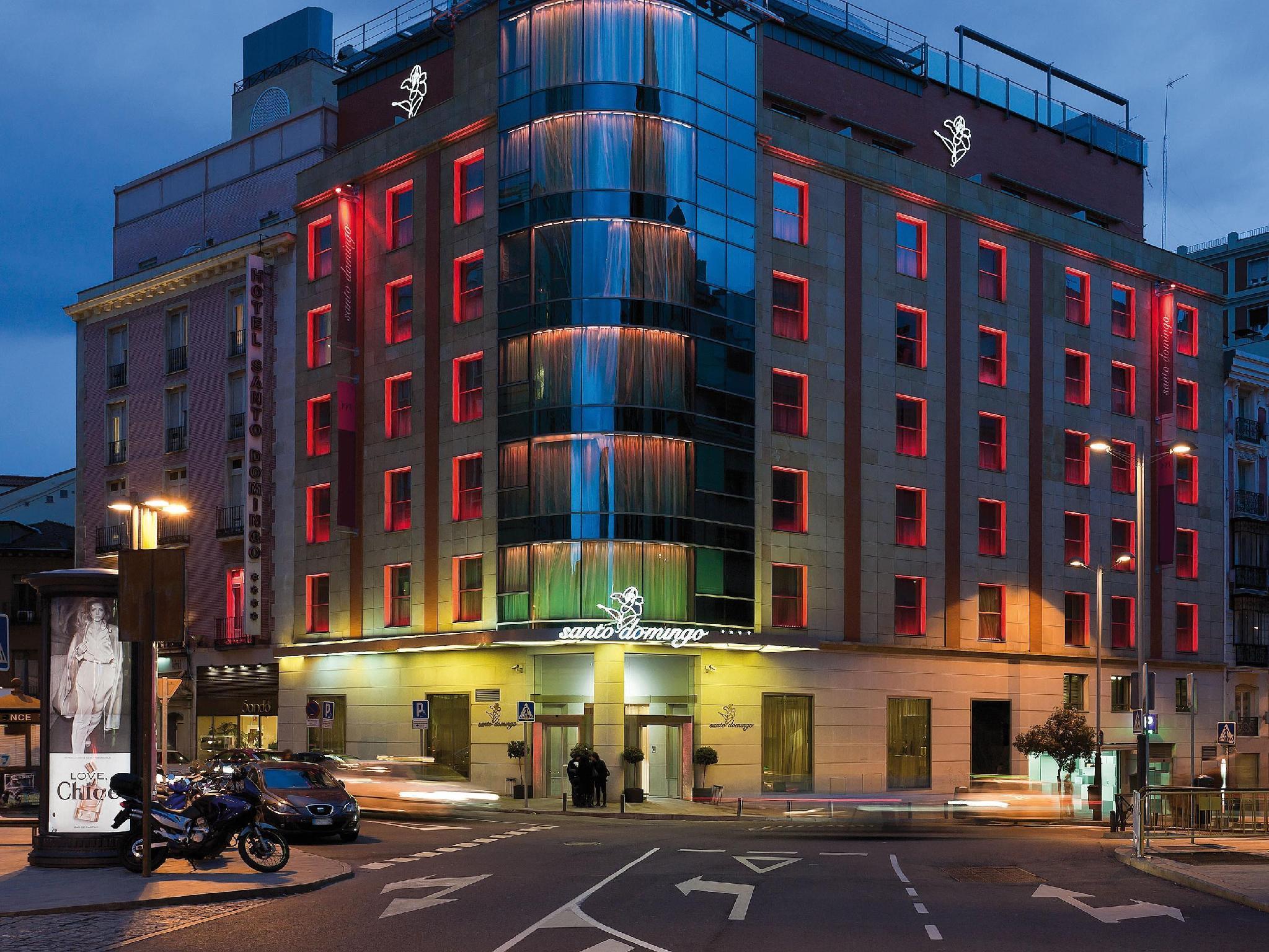 Hotel santo domingo city center madrid spain great for Hoteis madrid
