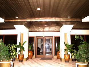 Indonesia Hotel Accommodation Cheap | Hotel Budi Palembang - Hotel Budi Main Entrance
