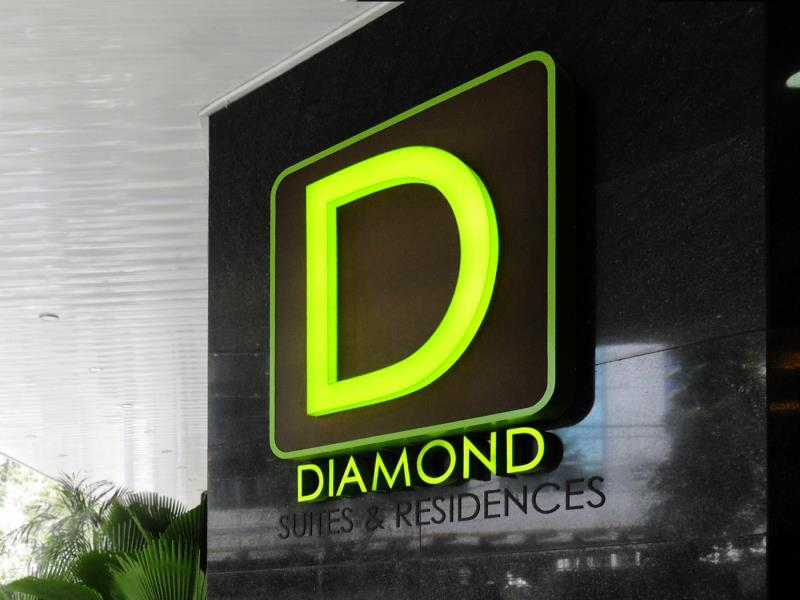 Diamond Suites & Residences Себу - Вітальня
