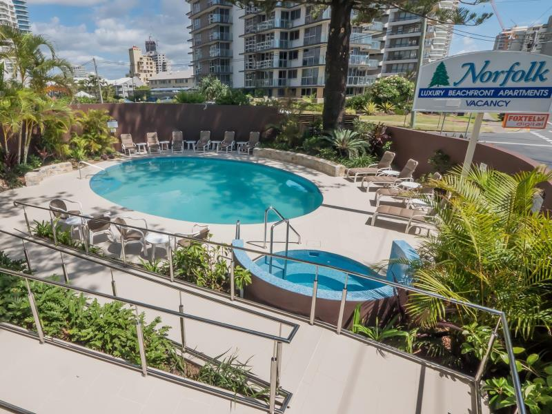 Norfolk Luxury Beachfront Apartments Gold Coast - Suite
