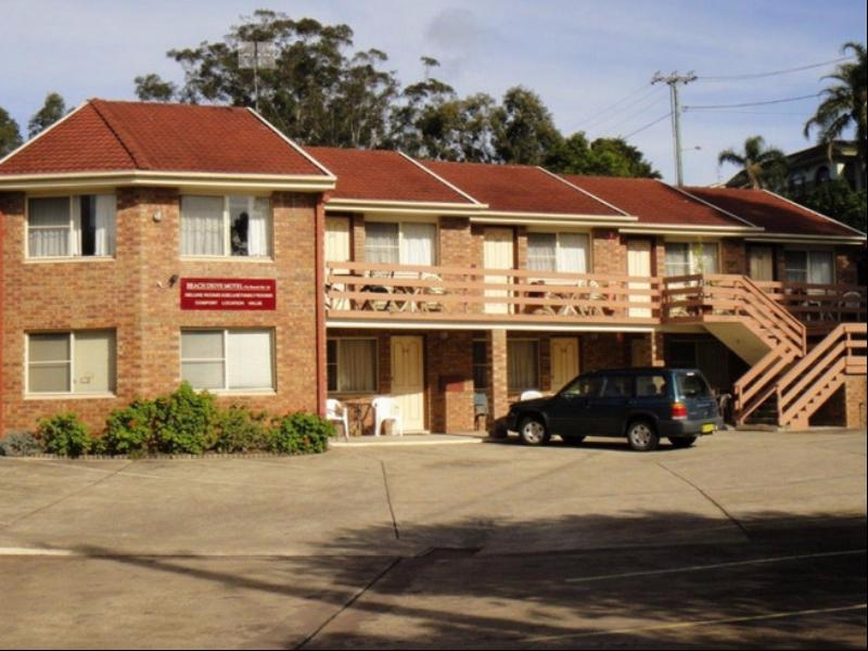 Beach Drive Motel - Hotell och Boende i Australien , Batemans Bay