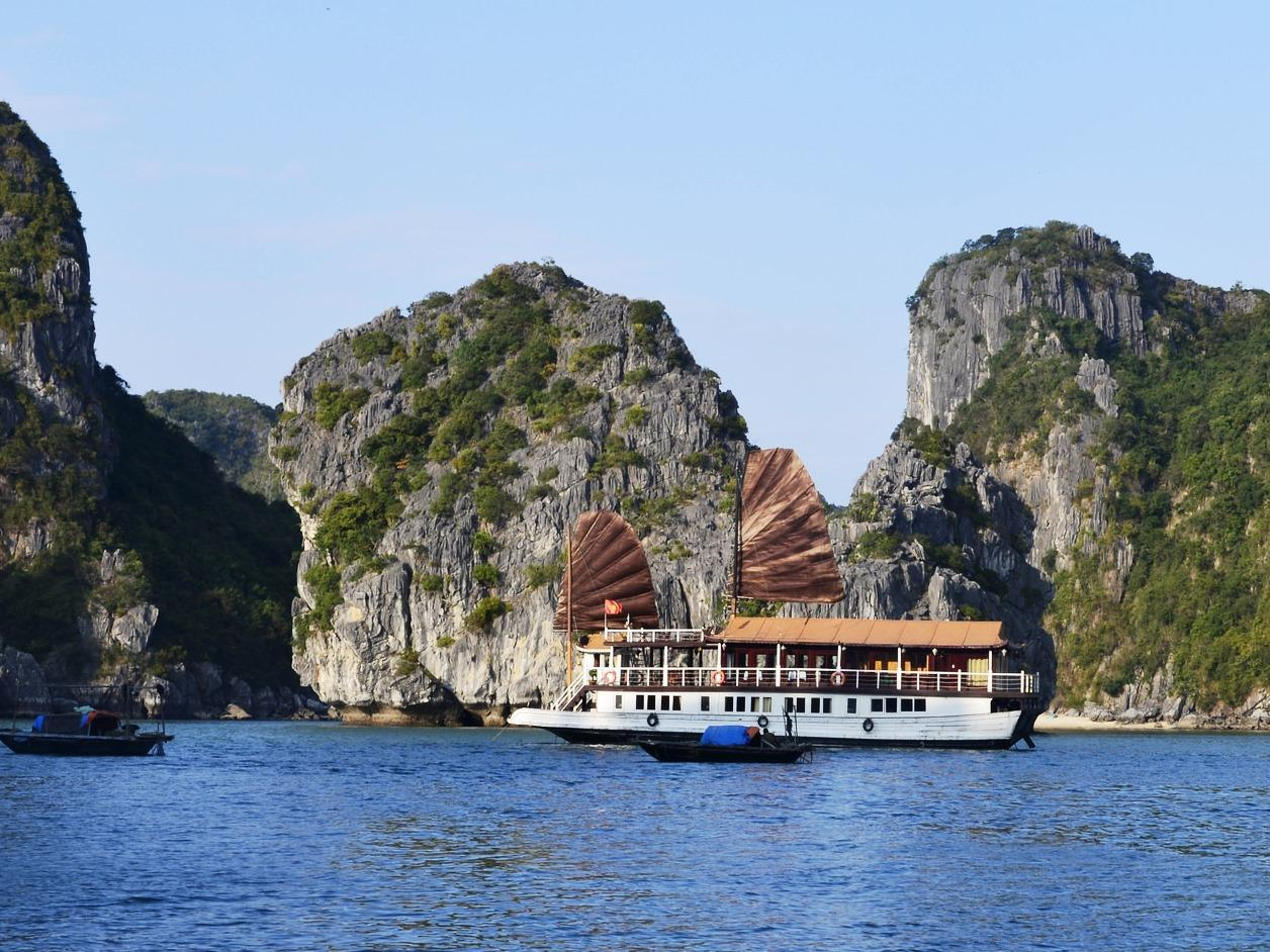 Hotell Halong Annam Junk