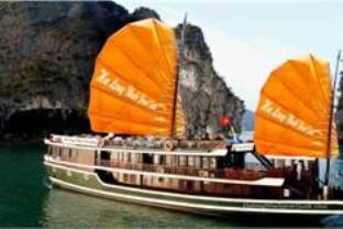 Hotell Halong Black Pearl Junk