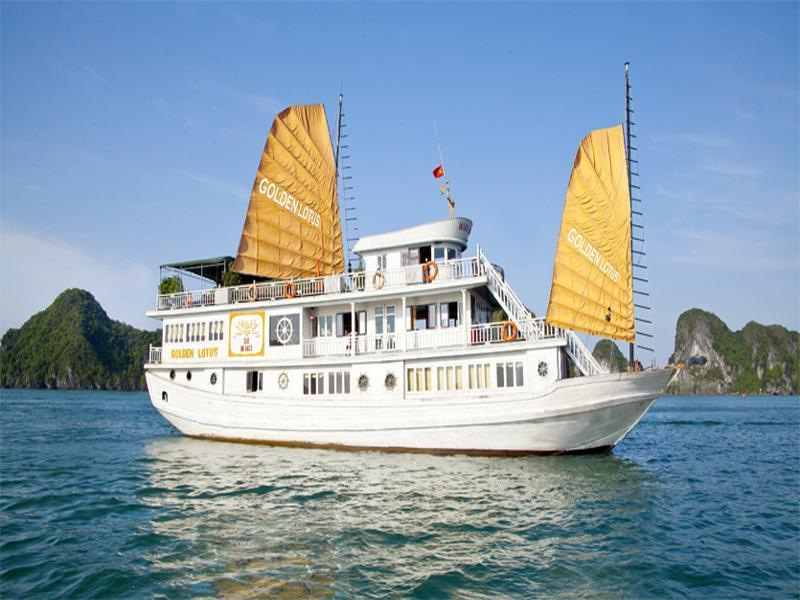 Hotell Halong Golden Lotus Cruise