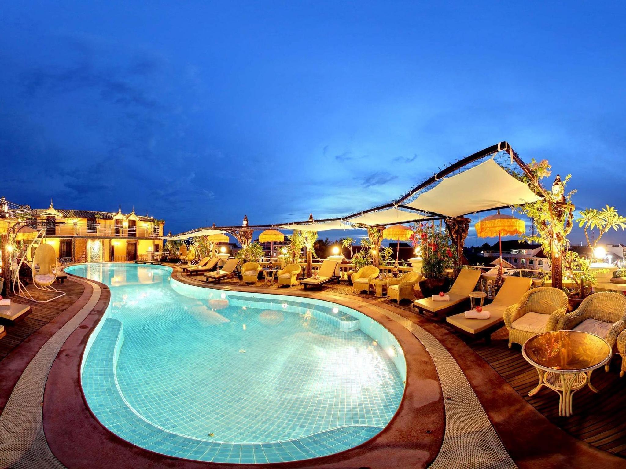Terrasse des Elephants Hotel & Restaurant Siem Reap