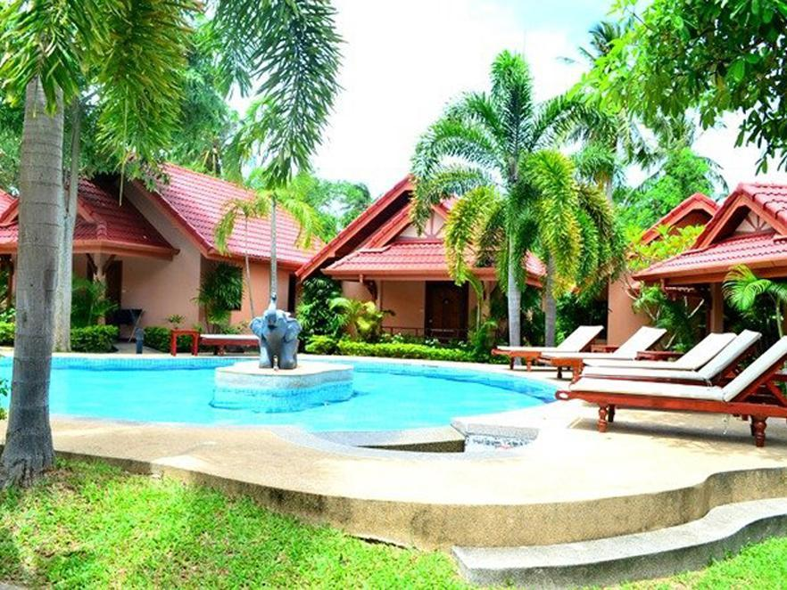 Happy Elephant Resort - Hotels and Accommodation in Thailand, Asia