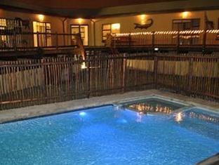 Moafrika Lodge Johannesburg - Pool at Night