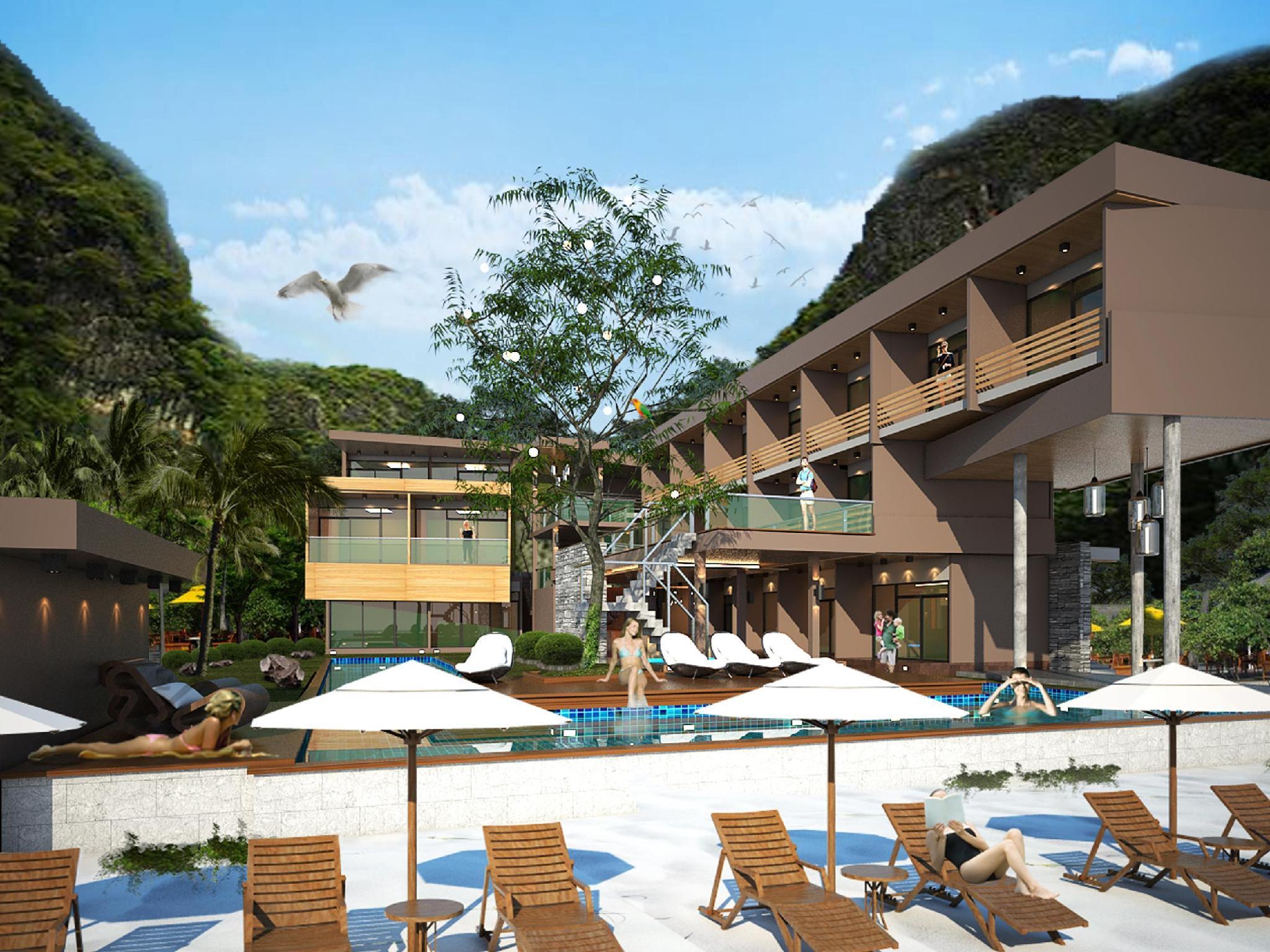 Hotell PP Nice Beach Resort i Ton Sai Bay, Krabi. Klicka för att läsa mer och skicka bokningsförfrågan