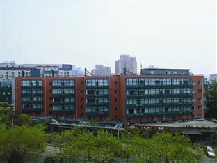 오렌지 호텔 베이징 아시아 게임 빌리지 북경/베이징 - 호텔 외부구조
