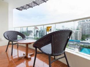 Lohas Suites Sukhumvit by Superhotel Japan Bangkok - Balkon/Terrasse