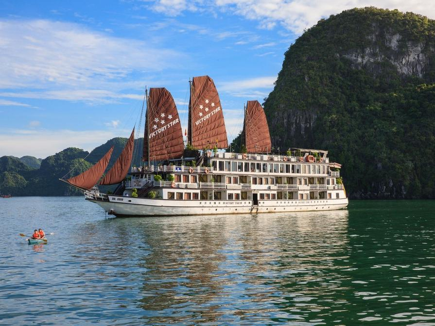Hotell Halong Victory Star Cruise