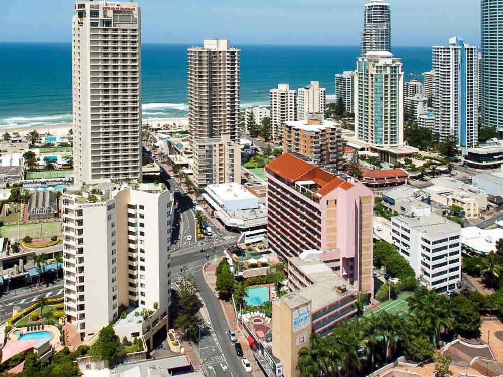 Islander Backpackers Resort - Hotell och Boende i Australien , Guldkusten