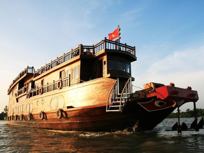 Hotell Mekong River Eyes Cruise