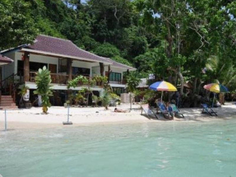 Hotell Phi Phi Popular Beach Resort i Ton Sai Bay, Krabi. Klicka för att läsa mer och skicka bokningsförfrågan