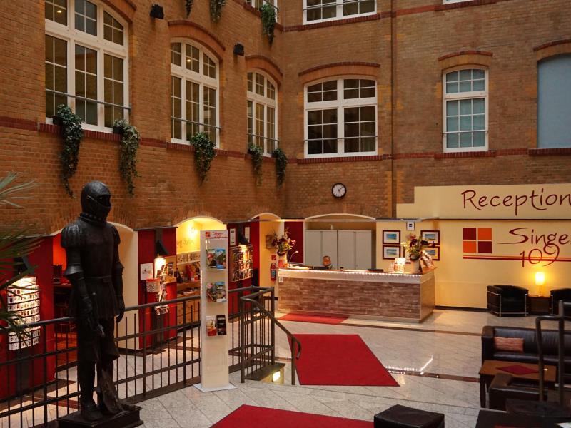 Singer109 Hotel & Hostel برلين - المظهر الخارجي للفندق