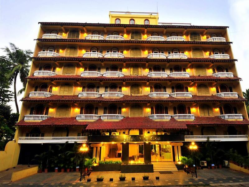 Hotel Palacio de Goa North Goa - المظهر الخارجي للفندق