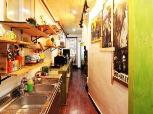 Banana Backpackers Guesthouse Seoul - Kitchen