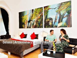 Bohem Art Hotel Budapest - Art & History (Deluxe) Suite