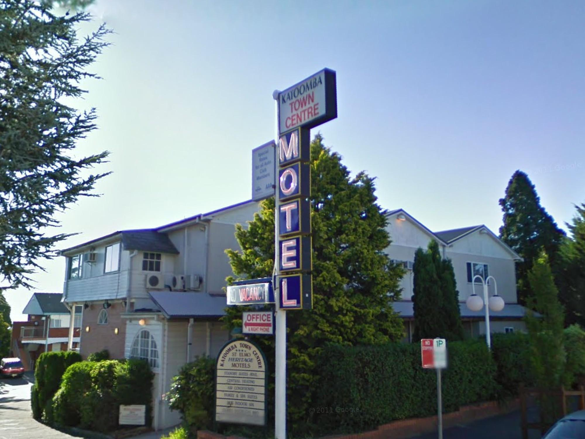 Katoomba Town Centre Motel - Hotell och Boende i Australien , Blue Mountains