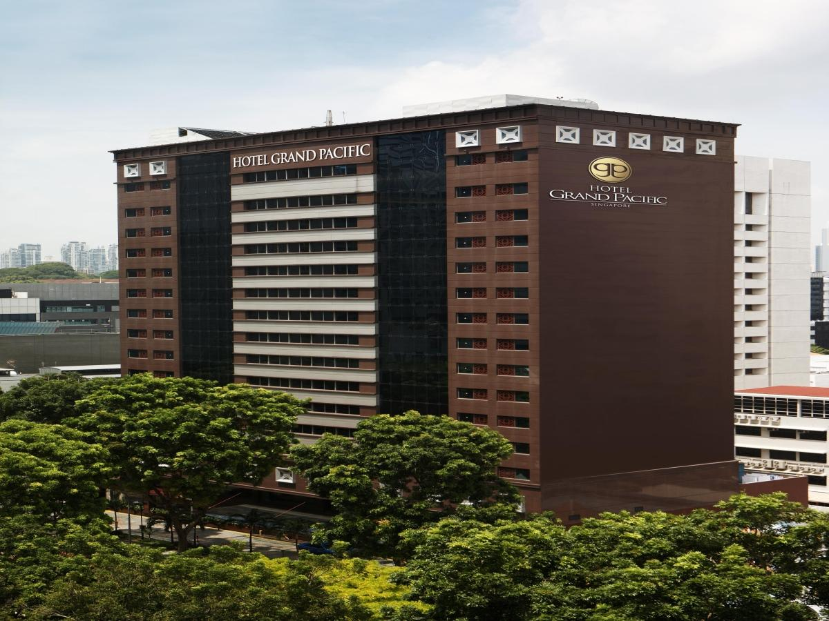 Hotel Grand Pacific is a first class business hotel in Singapore