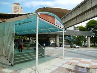 Hotel Sahara Kuala Lumpur - Nearby Monorail Station