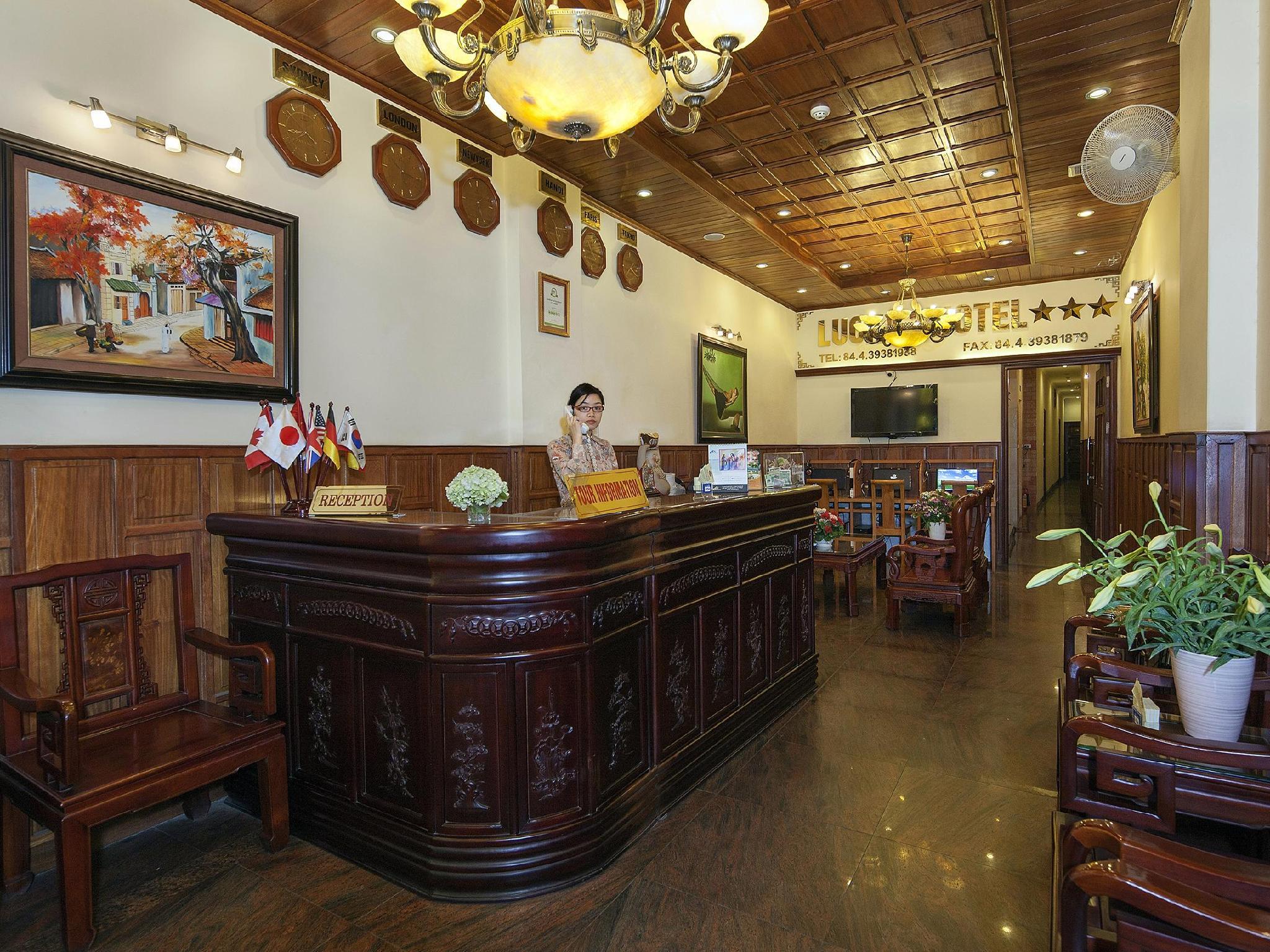 Lucky Hotel Hang Bong Street - Hotell och Boende i Vietnam , Hanoi
