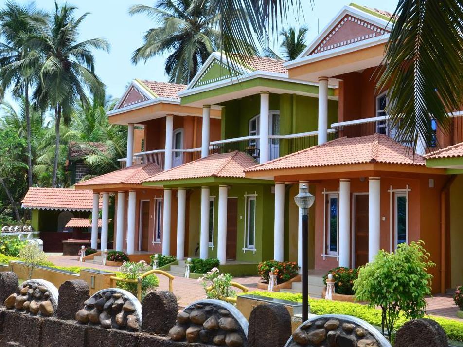 A s Holiday Beach Resort - Hotell och Boende i Indien i Goa