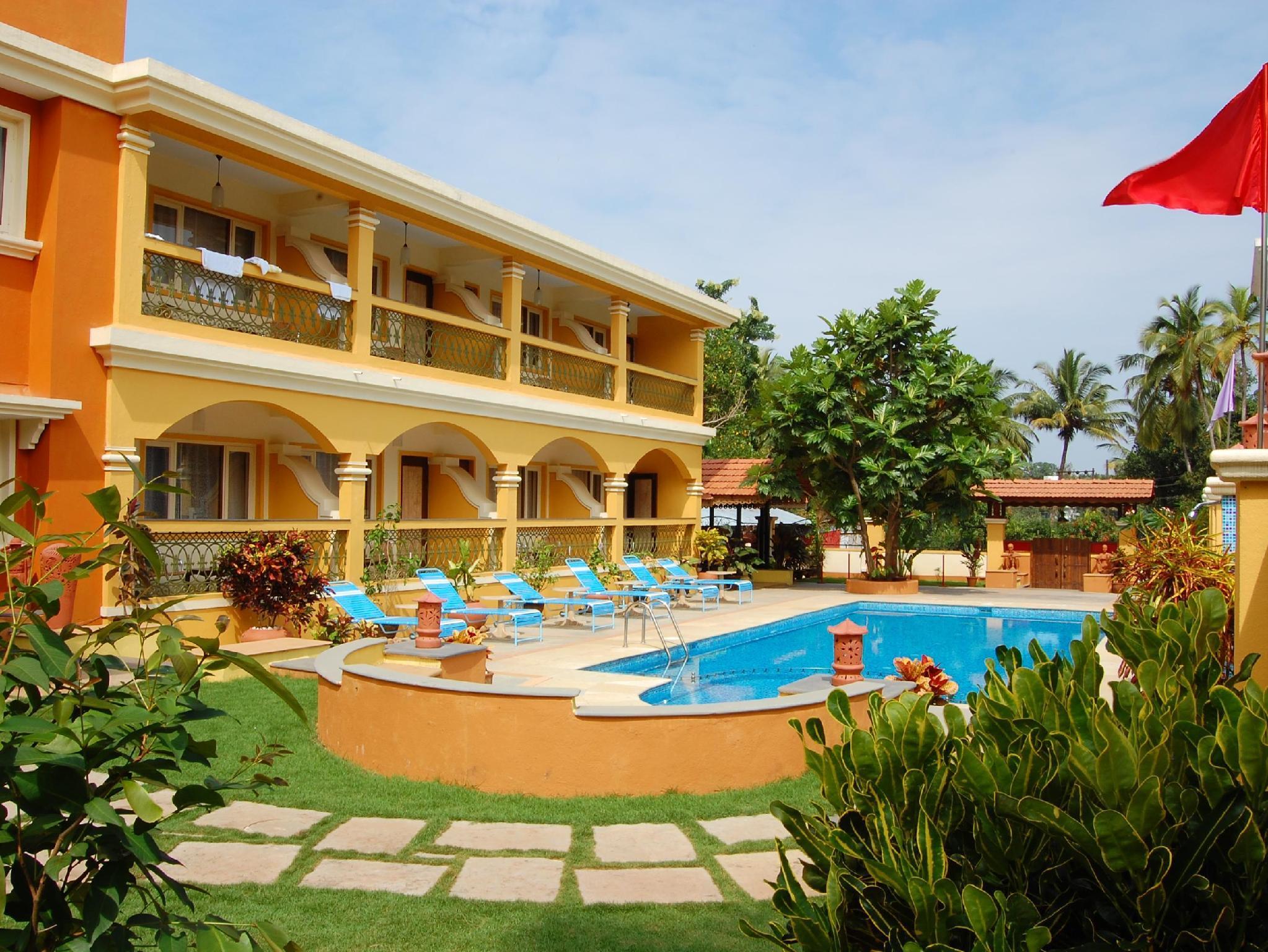 Martin s Comfort Hotel - Hotell och Boende i Indien i Goa