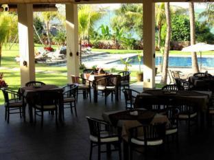 海景潜水度假村图兰奔酒店 巴厘岛 - 餐厅