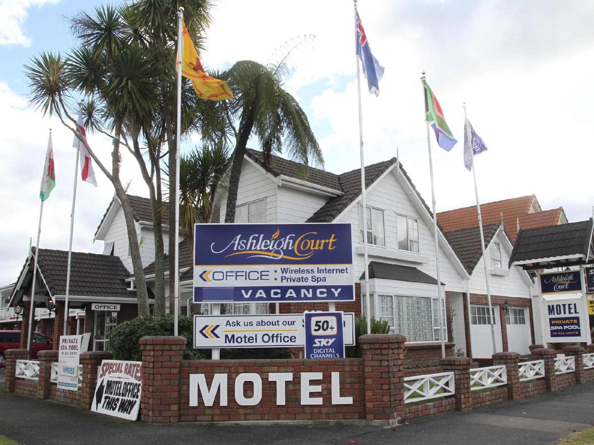 Ashleigh Court Motel - Hotels and Accommodation in New Zealand, Pacific Ocean And Australia