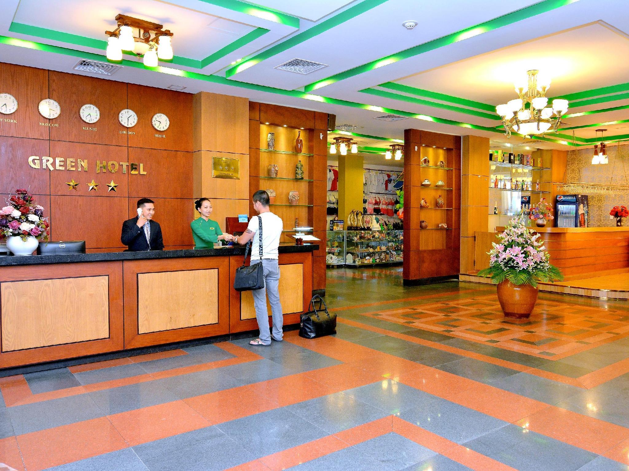 Hotell Green Hotel Vung Tau