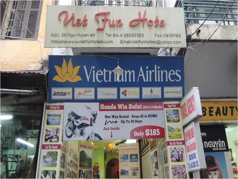 Viet Fun Hotel - Hotell och Boende i Vietnam , Hanoi