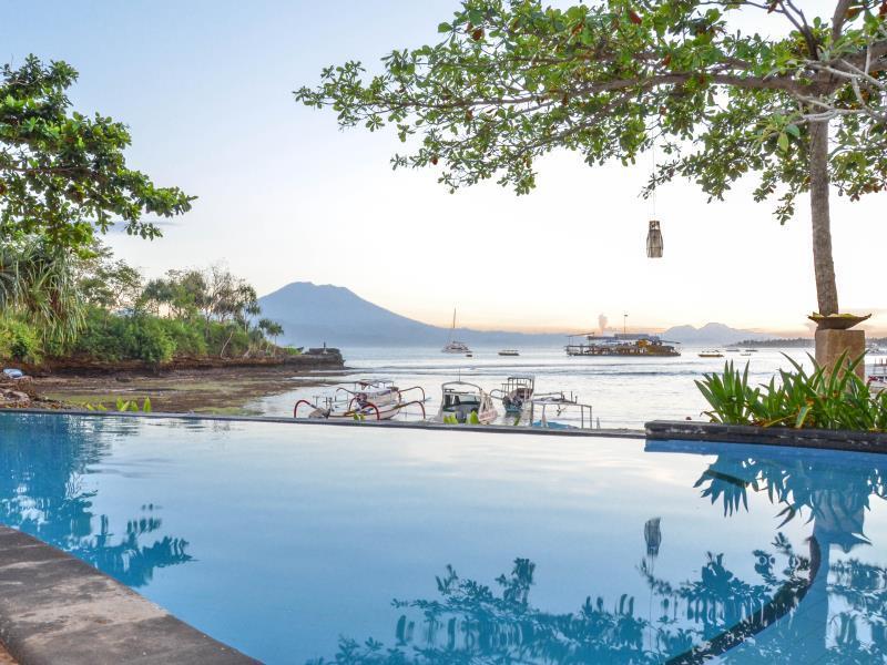 Tamarind Beach Bungalows Bali - Pool View