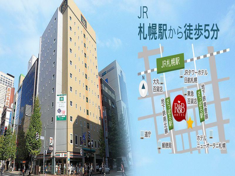 R&B Hotel Sapporo-KitasanNishini Sapporo