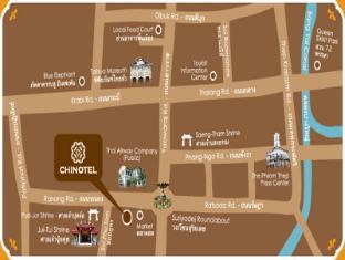 Chinotel Пукет - карта