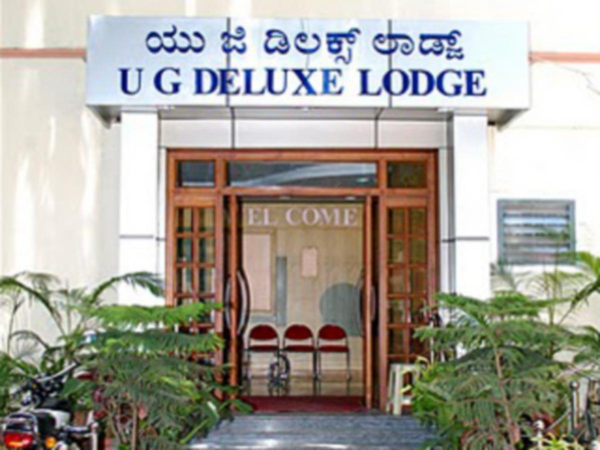 UG Deluxe Hotel - Hotell och Boende i Indien i Bengaluru / Bangalore