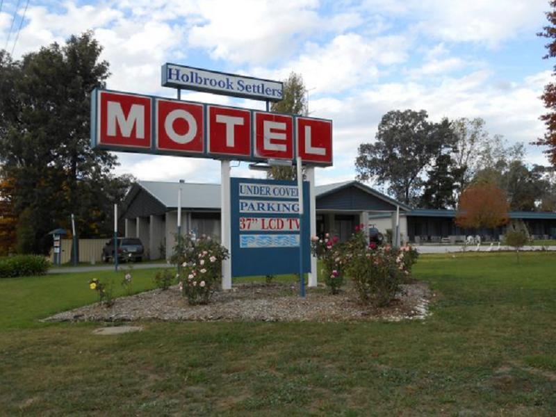 Holbrook Settlers Motel - Hotell och Boende i Australien , Holbrook
