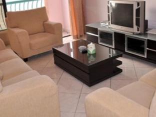 Marina Vacation Condos @ Marina Court Resort Condominium Kota Kinabalu - Waterfront  Facing Condo Living Area