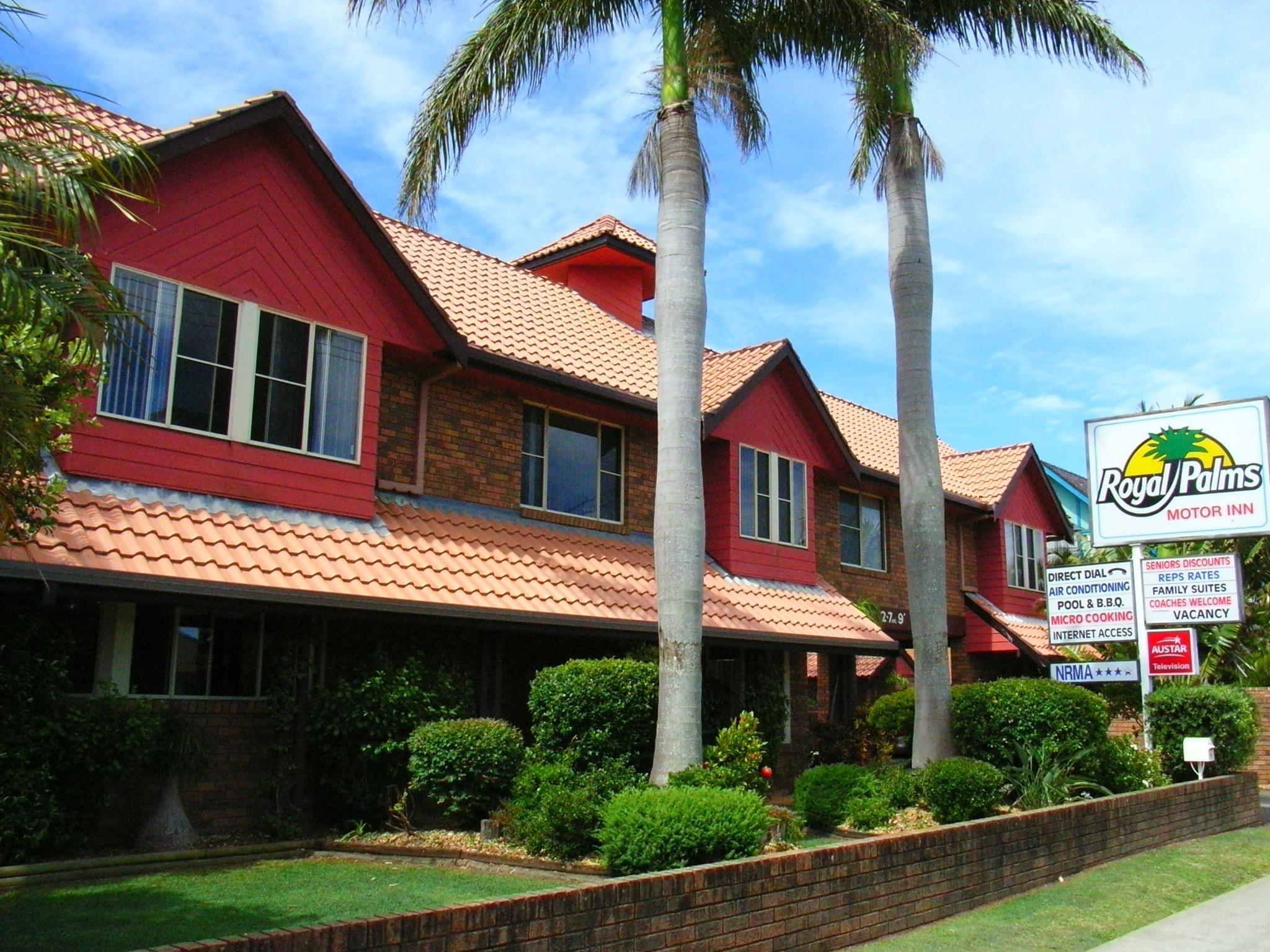 Royal Palms Motor Inn - Hotell och Boende i Australien , Coffs Harbour
