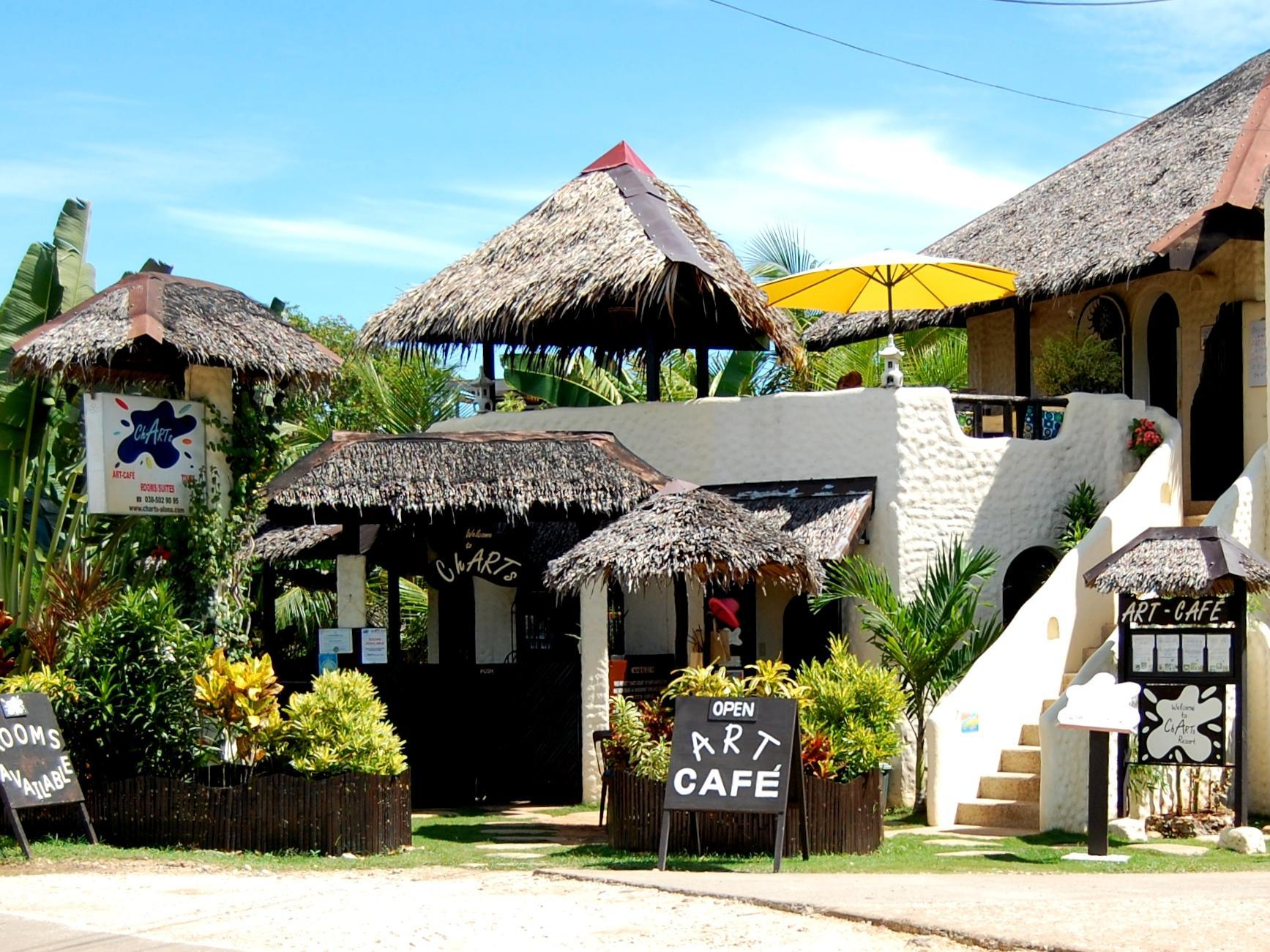 Charts Resort & Art Cafe 보홀