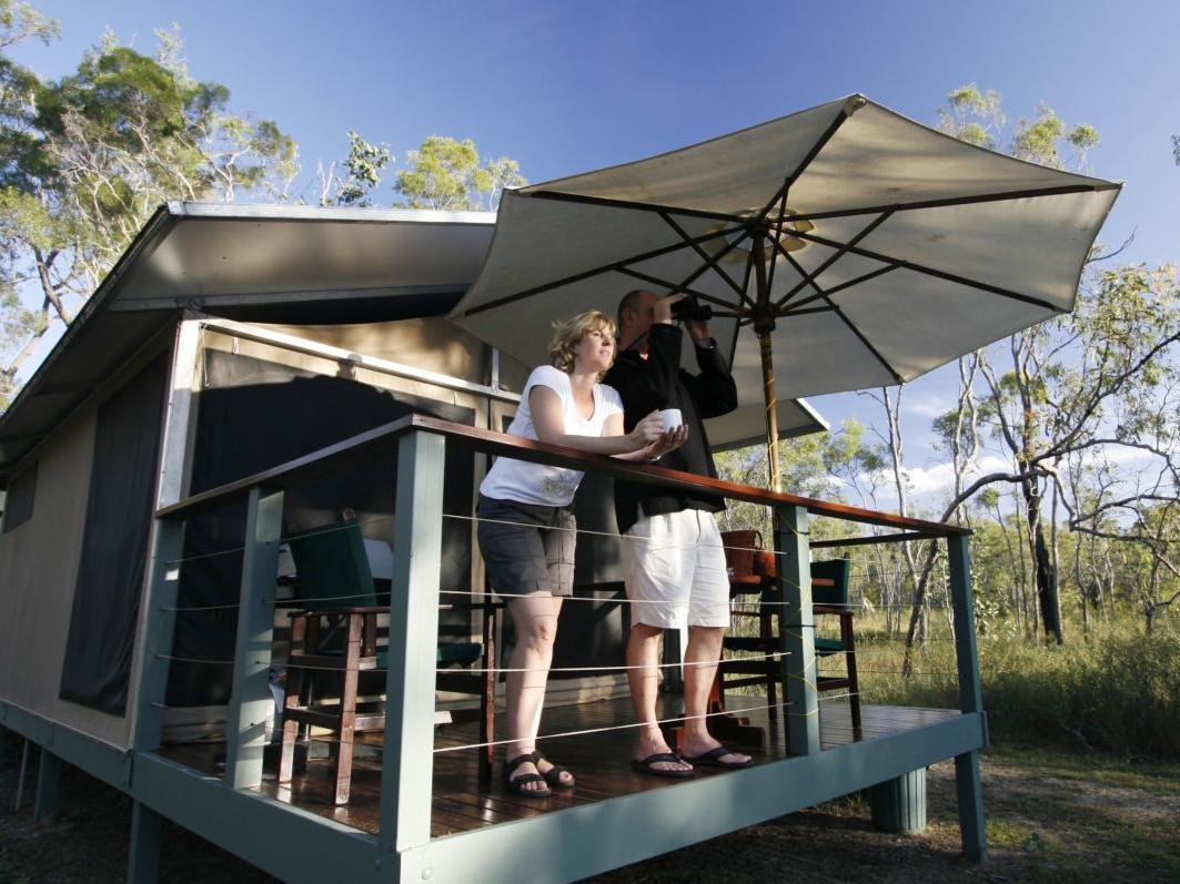 Jabiru Safari Lodge - Hotell och Boende i Australien , Mareeba