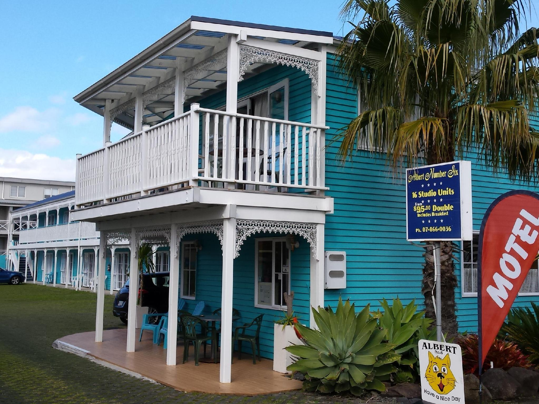 Albert Number 6 Motel - Hotels and Accommodation in New Zealand, Pacific Ocean And Australia