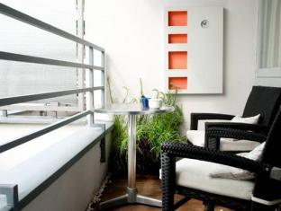 柏林市首都公寓 柏林 - 陽台
