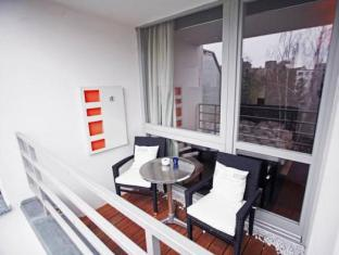 Capitol Apartments Berlin City ברלין - מרפסת