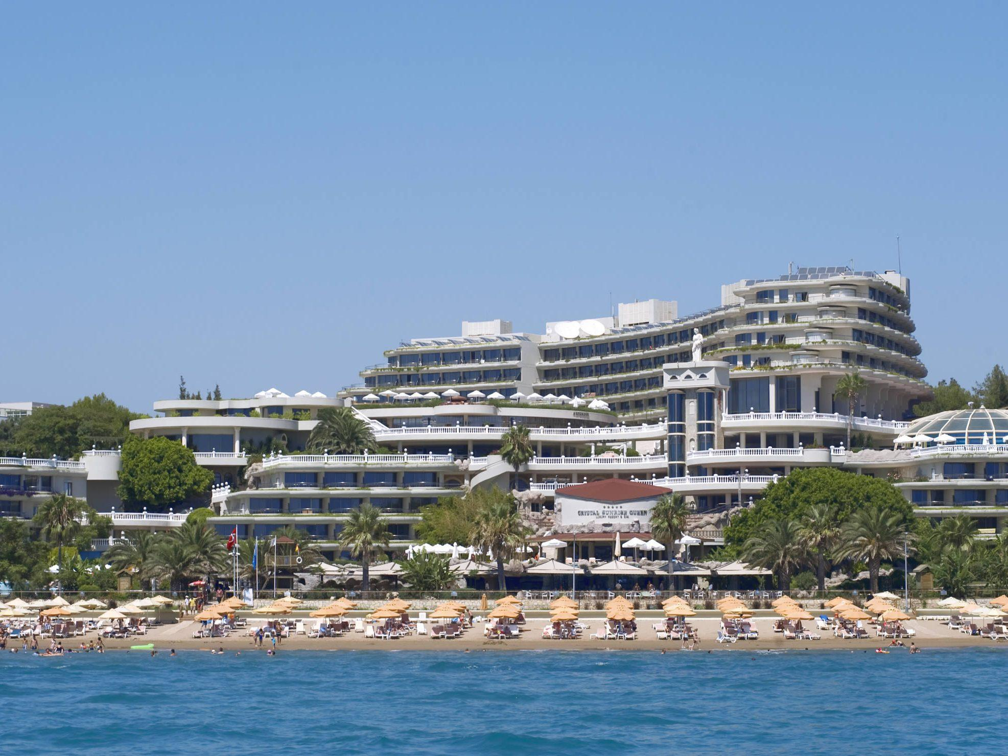 Crystal Sunrise Queen Luxury Resort And Spa - Hotell och Boende i Turkiet i Europa
