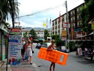阿瑪林芭東海灘旅館 普吉島 - 入口